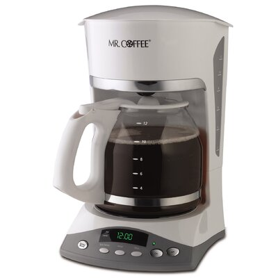 SKX Series 12 Cup Programmable Coffee Maker Color: White SKX20-RB