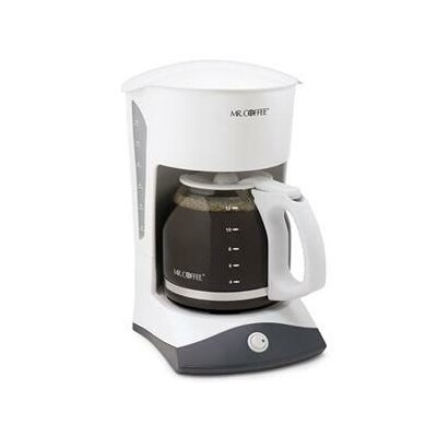 12 Cup Switch Coffee Maker In White