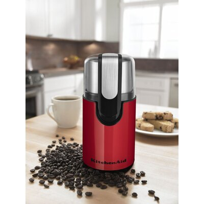Electric Blade Coffee Grinder Color: Empire Red BCG111ER