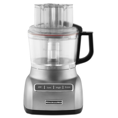 KitchenAid KFP0922CU Contour Silver 9-cup Food Processor 12005302