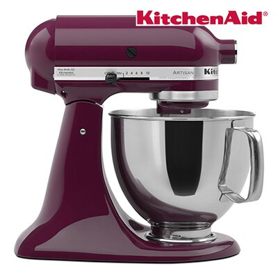 KitchenAid KSM150PSBY Artisan® Series Boysenberry 5 Quart Stand Mixer