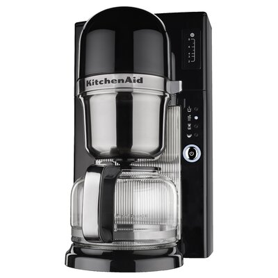 KitchenAid KCM0801OB Onyx Black 8-cup Pour Over Coffee Brewer 16220697