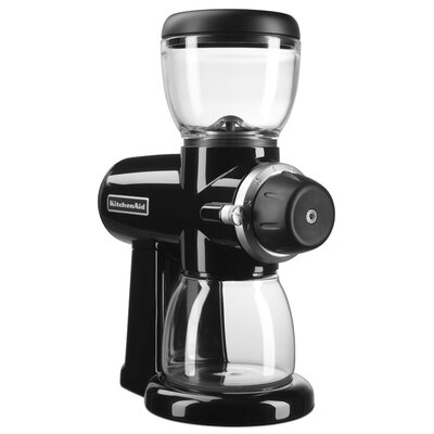 Electric  Burr Coffee Grinder Finish: Onyx Black KCG0702OB