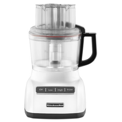 9 Cup Food Processor with ExactSlice System Color: White KFP0922WH