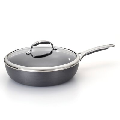 Gourmet Hard Anodized 11 Covered Deep Skillet