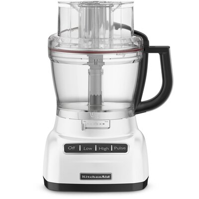 KitchenAid 13-Cup Food Processor with Mini Bowl - Color: KFP1333WH White at Sears.com