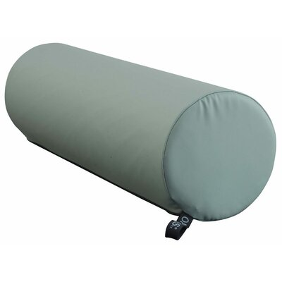 8 Round Bolster Color: Heron