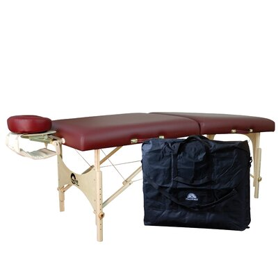 One Massage Table Package Color: Ruby