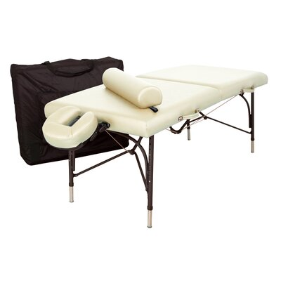 WellSpring Massage Table (Essential Package) Color: Opal, Size: 31W