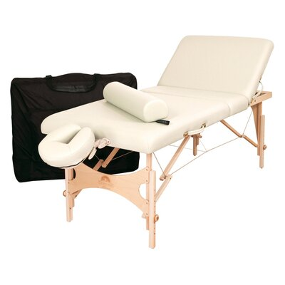 Alliance Wood Massage Table (Essential Package) Color: Opal