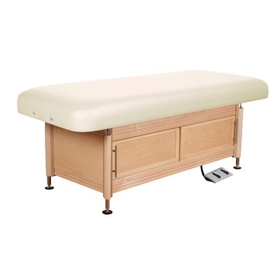 Clinician Electric Hydraulic Flat Top with Cabinet Color: Opal