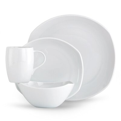 Dansk Classic Fjord 4 Piece Place Setting - Color: White at Sears.com