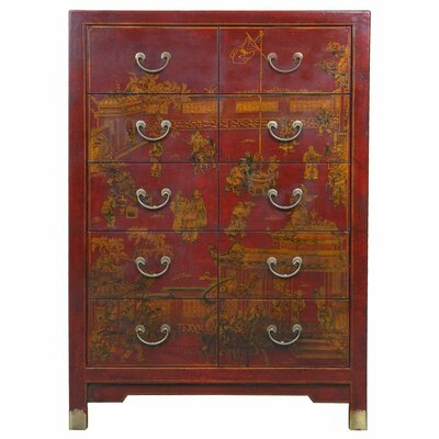 Yanse 10 Drawer Dresser