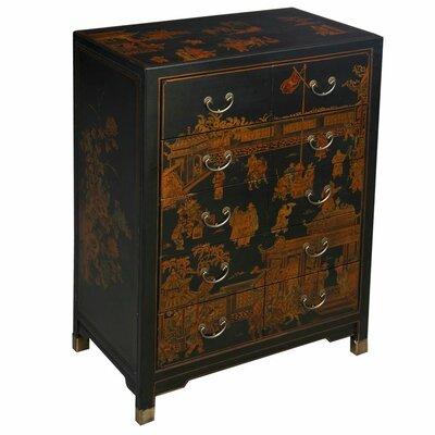 Yanse 10 Drawer Double Dresser