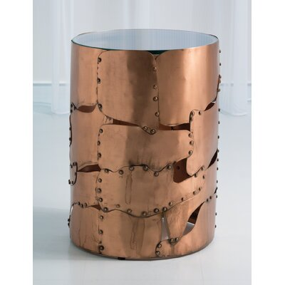 Armor End Table