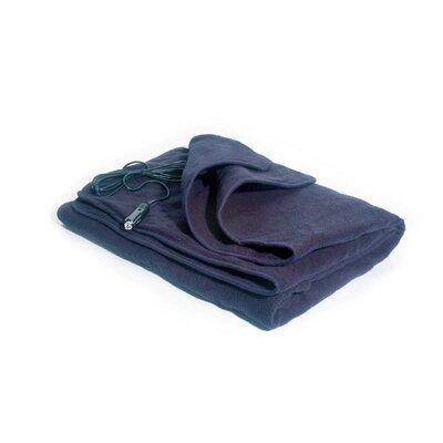 12V Comfy Cruise Heated Car Blanket Color: Navy