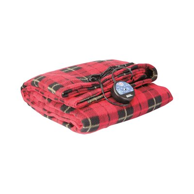 12V Comfy Cruise Heated Car Blanket Color: Red
