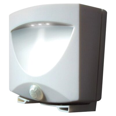 Battery Powered Motion Activated Outdoor Night Light Color: White