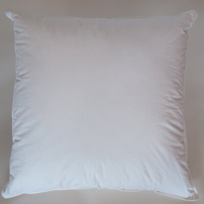 Cotton Euro Pillow Size: 26