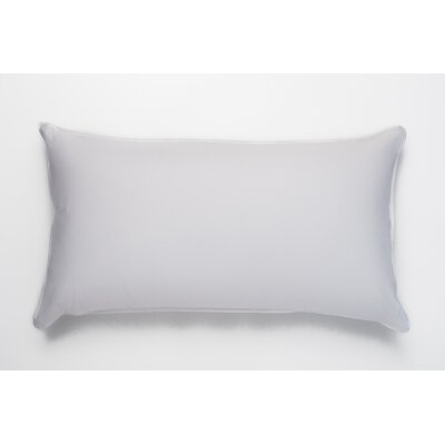 Single Shell Soft Cotton Down Pillow Size: King