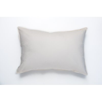 Harvester Double Shell 600 Hypo-Blend Medium Down Pillow Size: Queen
