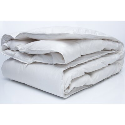 Traditional Midweight Down Comforter Size: Super King