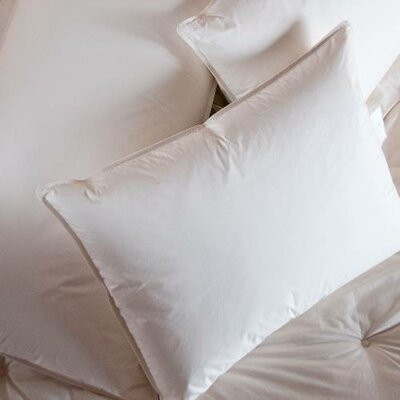 Double Shell Duck Medium Down Pillow Size: King