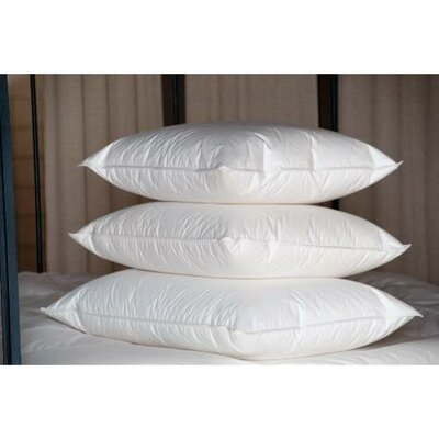 Double Shell Harvester Duck Medium Down Pillow Size: Standard