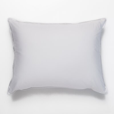 Double Shell 75 / 25 Medium Down Pillow Size: Standard