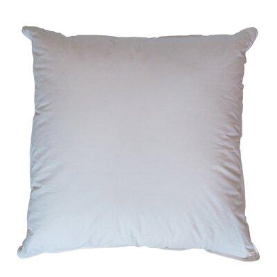 Cotton Euro Pillow Size: 30
