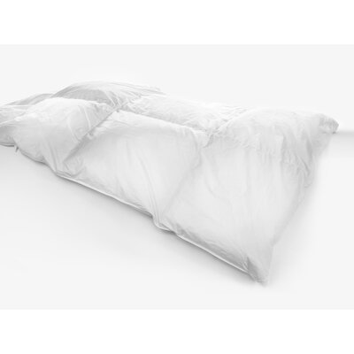 Light Weight Cotton Sateen Down Comforter Size: Super King