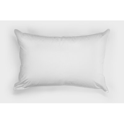 100% Down Pillow Size: Standard, Comfort Level: Medium