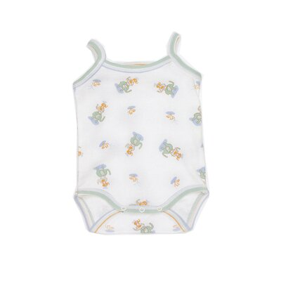 Adventures in Bali Beachbody Baby Clothing in Elephant Print Size: Newborn - 3 Month