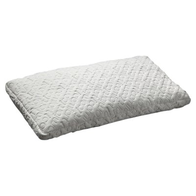 Scrunch Gel Memory Foam Pillow Size: King