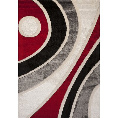 Contempo Modern Multi Area Rug Rug Size: Runner 3 x 8