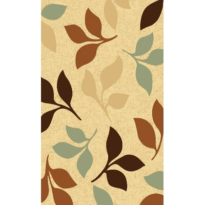 Izmar Falling Leaves Area Rug