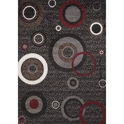 Estella Circle Multi Area Rug Rug Size: 8 x 11