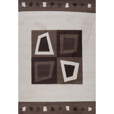 Milano Diamonds and Boxes Area Rug Rug Size: 6 x 8