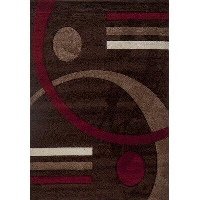 Milano Postmodernist Venn Diagram Area Rug Rug Size: 6 x 8