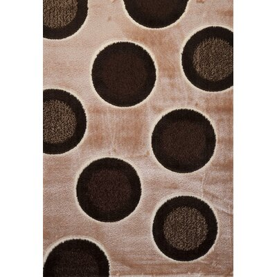 Signature Dots Earthtone Area Rug Rug Size: Runner 3 x 8