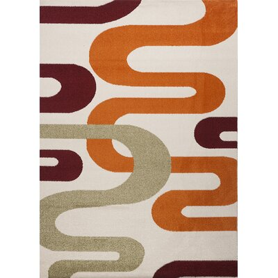 Estella Abstract Multi Area Rug Rug Size: 6 x 8
