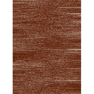 Estella Woodgrain Brown Area Rug Rug Size: 8 x 11