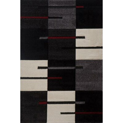 Milano Chessboard Area Rug Rug Size: 6 x 8