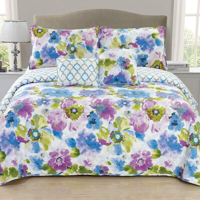 Calypso 5 Piece Quilt Set Size: King