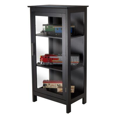 Poppy Corner Curio Cabinet