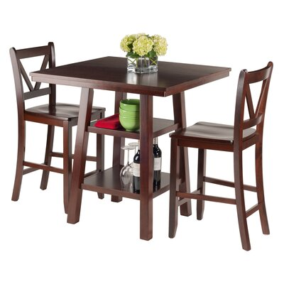 Orlando 3 Piece Pub Table Set