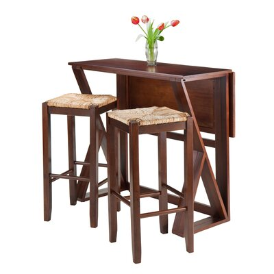 Harrington 3 Piece Counter Height Dining Set