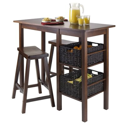 Egan 3 Piece Pub Table Set