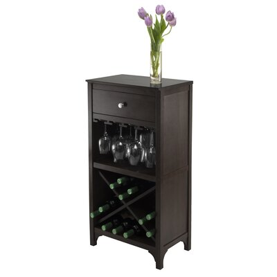 Mackenzie 20 Bottle Floor Wine Rack