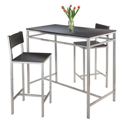 Hanley 3 Piece Pub Table Set